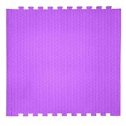 "Коврик-пазл EcoCover (1 плита 100х100х1,4см, 1кв.м./уп) ""Фиолетовый"""