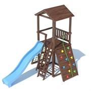Детский спортивный комплекс TL A 1.1 деревянная крыша