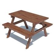 Столик с лавочками TL