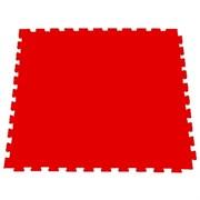 Модульное покрытие для фитнеса, аэробики, йоги, 100х100х1 см, красный