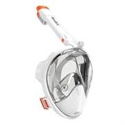 Полнолицевая маска для снорклинга со складной трубкой, S/M