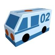 "Контурная игрушка Фургон ""Полиция"" Романа ДМФ-МК-01.23.03"