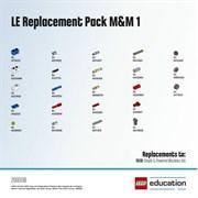 LE набор с запасными частями «Машины и механизмы» 1. LEGO