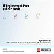 LE набор с запасными частями «Резиновые кольца и приводы». LEGO