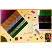 Тактильная панель РГ с декоративными элементами