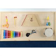 Панель с музыкальными инструментами РГ