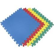 Покрытие для детских игровых зон (1 плита 100x100x1 см, 1кв.м./уп) с кромками