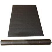 Коврик под тренажер GymFit 0,6х120х220 см защитный, шумопогощающий