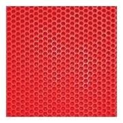 """Листовой ЭВА для автоковриков """"Соты"""", 1400х2550х10 мм, красный"""