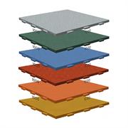 Модульное напольное покрытие Rubblex Active (скрытый ласточкин хвост) 100х100 см