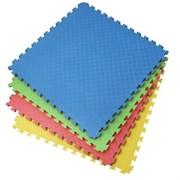 Модульное напольное покрытие ПВХ для детских игровых зон, 100х100х1,5 см