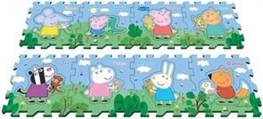 """Peppa Pig Коврик-пазл """"Пеппа и друзья"""""""