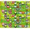 """Коврик двусторонний """"Английский алфавит+Лабиринт"""" (180х200х1 см) - фото 17570"""