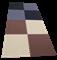 """Коврик-пазл Экополимеры (4 плиты 60x60x0,9см, 1,44кв.м./уп) """"Черно-серый"""" - фото 17754"""