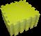 "Коврик-пазл BABYPUZZ (9 плит 33x33x2см, ~1кв.м./уп) ""Салатовый"" - фото 17997"