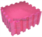 "Коврик-пазл BABYPUZZ (9 плит 33x33x2см, ~1кв.м./уп) ""Розовый"" - фото 18013"
