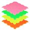 """Модульный ортопедический коврик ОРТОДОН """"Шипы"""" (мягкий), флуоресцентный - фото 19836"""