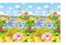 Детский игровой развивающий коврик ComFlor (двухсторонний) Pingko and Friends (210 x 140 x 1,3) - фото 5682