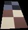 """Коврик-пазл Экополимеры (Мягкий пол - 4 плиты 60x60x0,9см, 1,44кв.м./уп) """"Бежево-коричневый"""" - фото 631290"""
